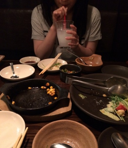 セフレと食事に行った時の画像