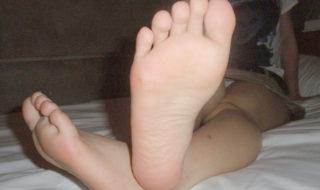 ドSの足コキ