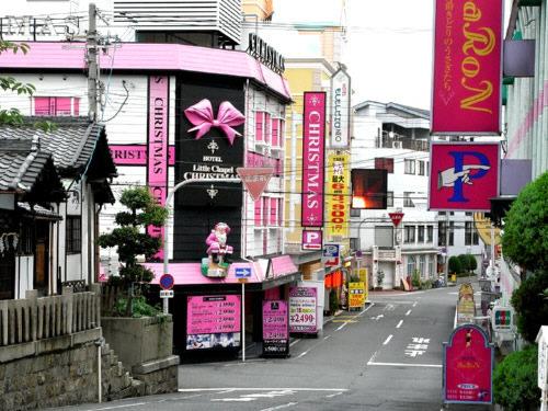 桜ノ宮のラブホ街