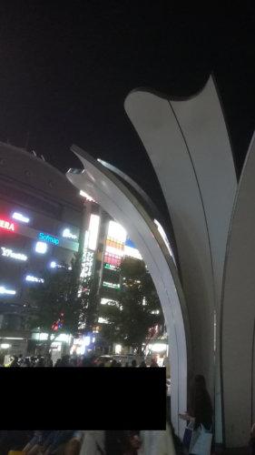 名古屋駅、噴水広場の画像