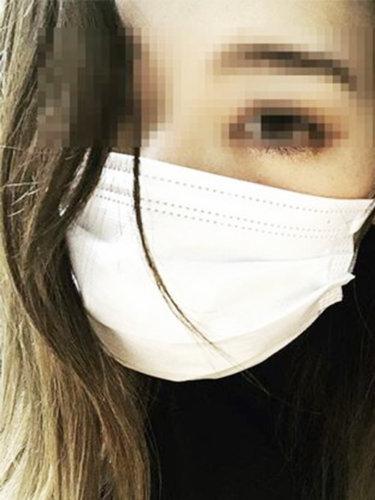 LINEでもらったはづきちゃんの写メ画像