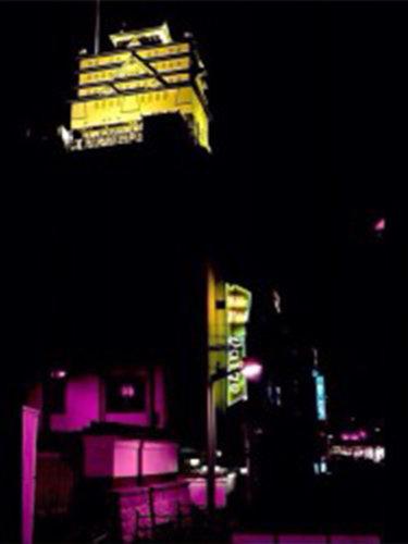 天守閣のあるDAIGOというラブホテル